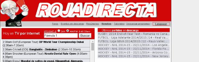 Las páginas Web donde ver hoy fútbol en vivo + Rojadirecta
