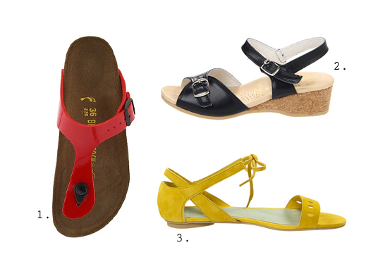 city-walking approved sandals.