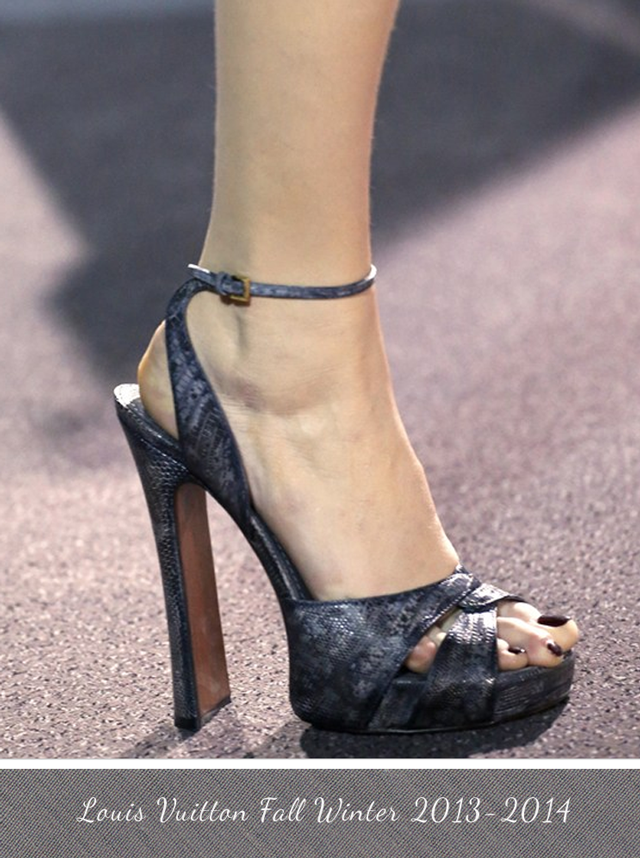 Louis Vuitton Shoe Fall Winter 2013 - 2014