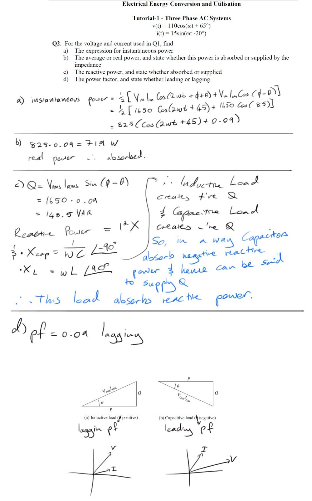 Inductors Electrical Engineering 3rd Year Measurement Of Three Phase Power Electrical4u Posted 26th February 2013 By Dre