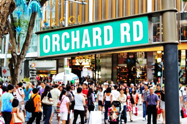 Du lịch Singapore tham quan Đại lộ Orchard Road - thiên đường mua sắm tại Sing