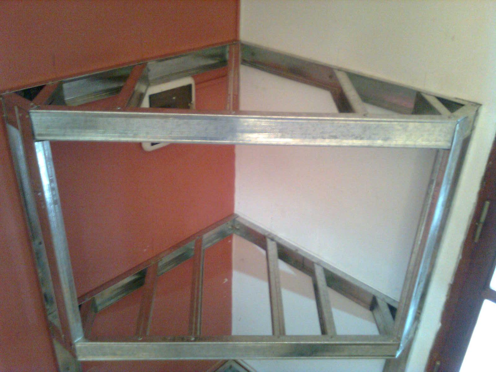 fotos de muebles de durlock para lcd - Modular Durlock
