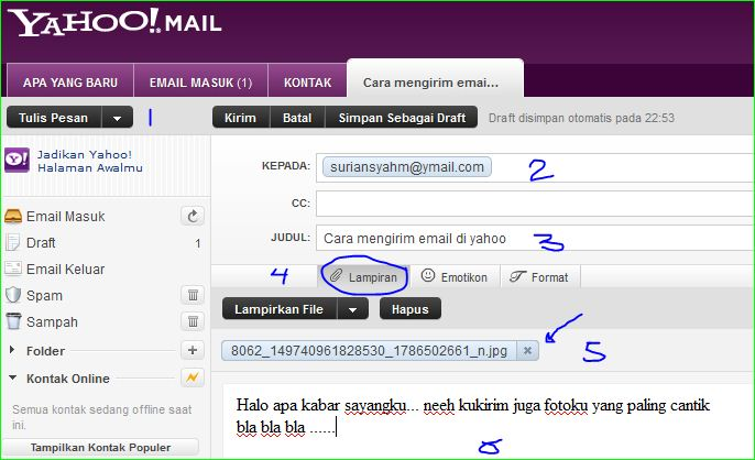 Kumpulan berita menarik cara membuat email dan mengirim email