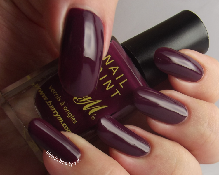 Barry M: Berry Cosmo /5 | IthinityBeauty.com Nail Art Blog
