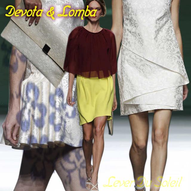 Devota & Lomba, Primavera/Verano 2014, Primavera Verano 2014, Spring Summer, Lever du Soleil by Elzzia,   Blog de Moda, Ourense