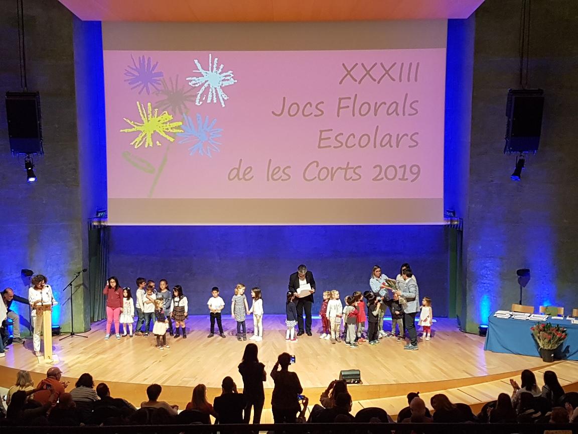 Resultado de imagen de JOCS FLORALS LES CORTS 2019
