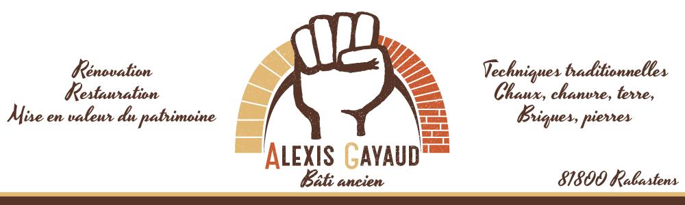 Alexis Gayaud maçon du bâti ancien à Rabastens renovation restauration pierre briques