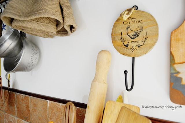 Kitchen hood decor -shabby&CountryLife.blogspot.it