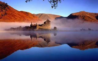 Kilchurn Castle!!