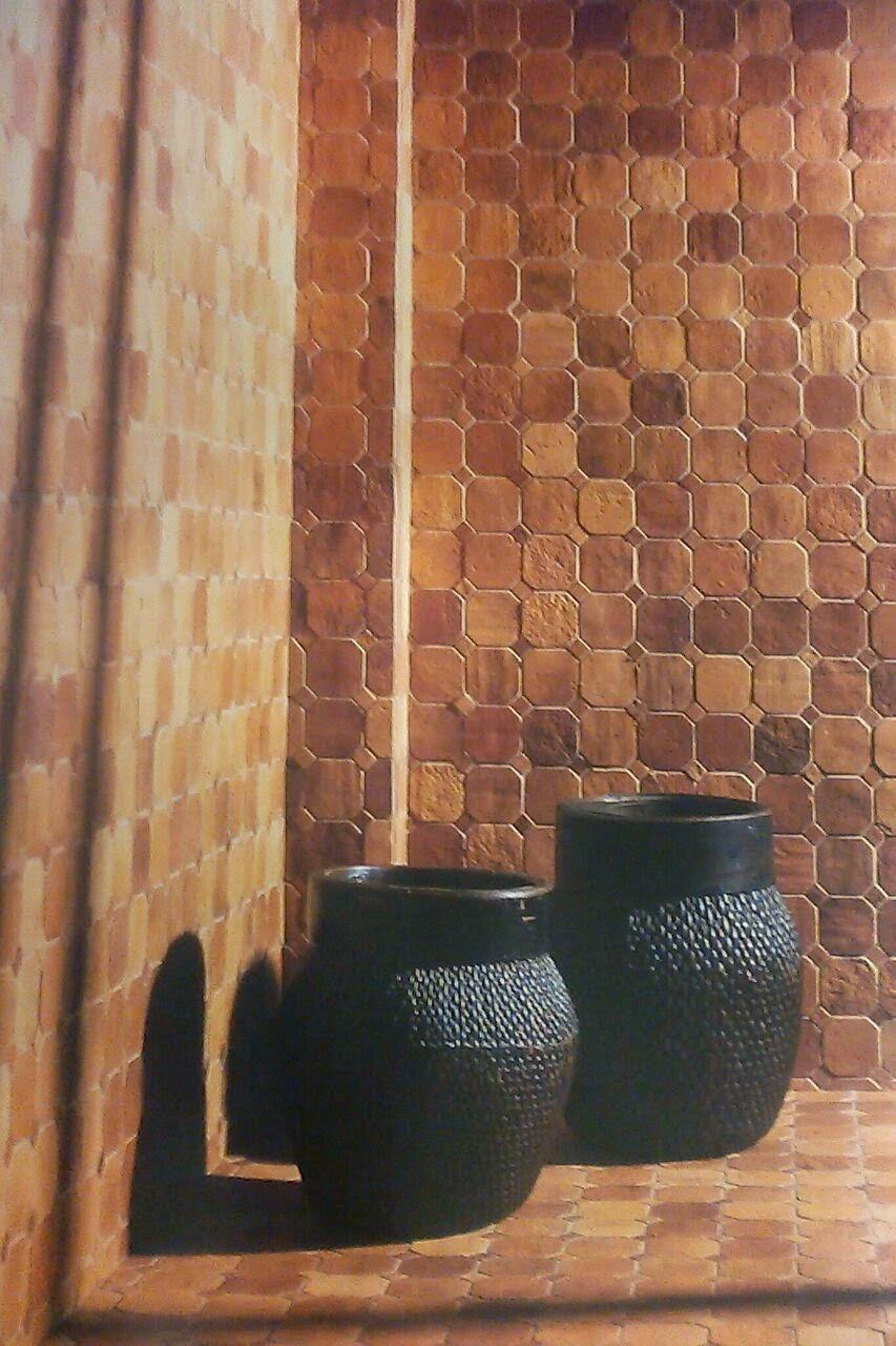 Azulejos ba o imitacion piedra for Azulejos banos rusticos