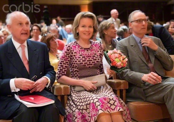 Queen Mathilde Meets With The Contemporary Artists From China