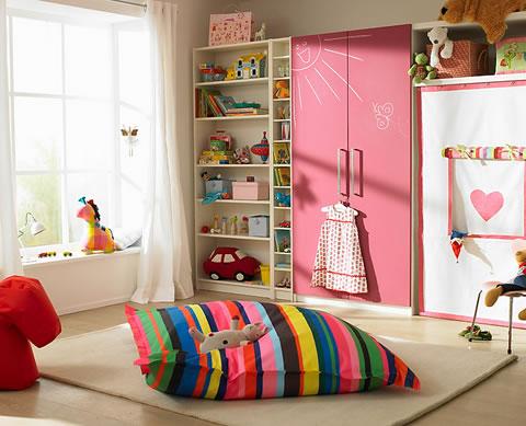 32 propuestas originales para una habitaci n infantil o for Decoracion hogar juvenil