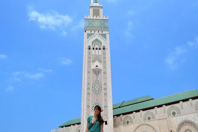Casablanca, Marruecos, mezquita Hassan II