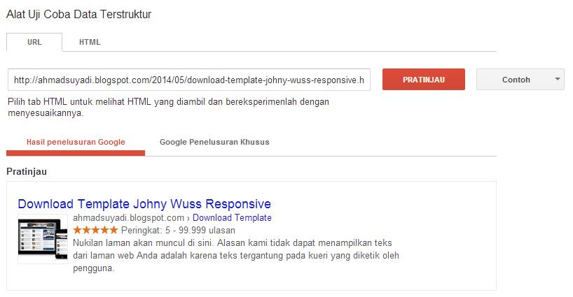 2 Cara Jitu Menampilkan Rating Bintang Di Hasil Pencarian Google