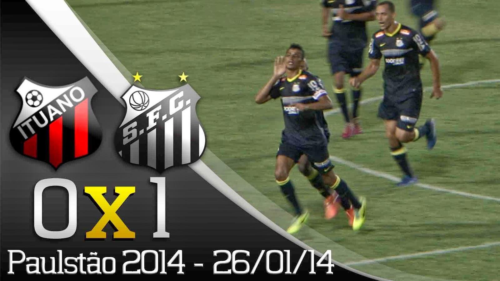 Ituano 0 x 1 Santos - 2014