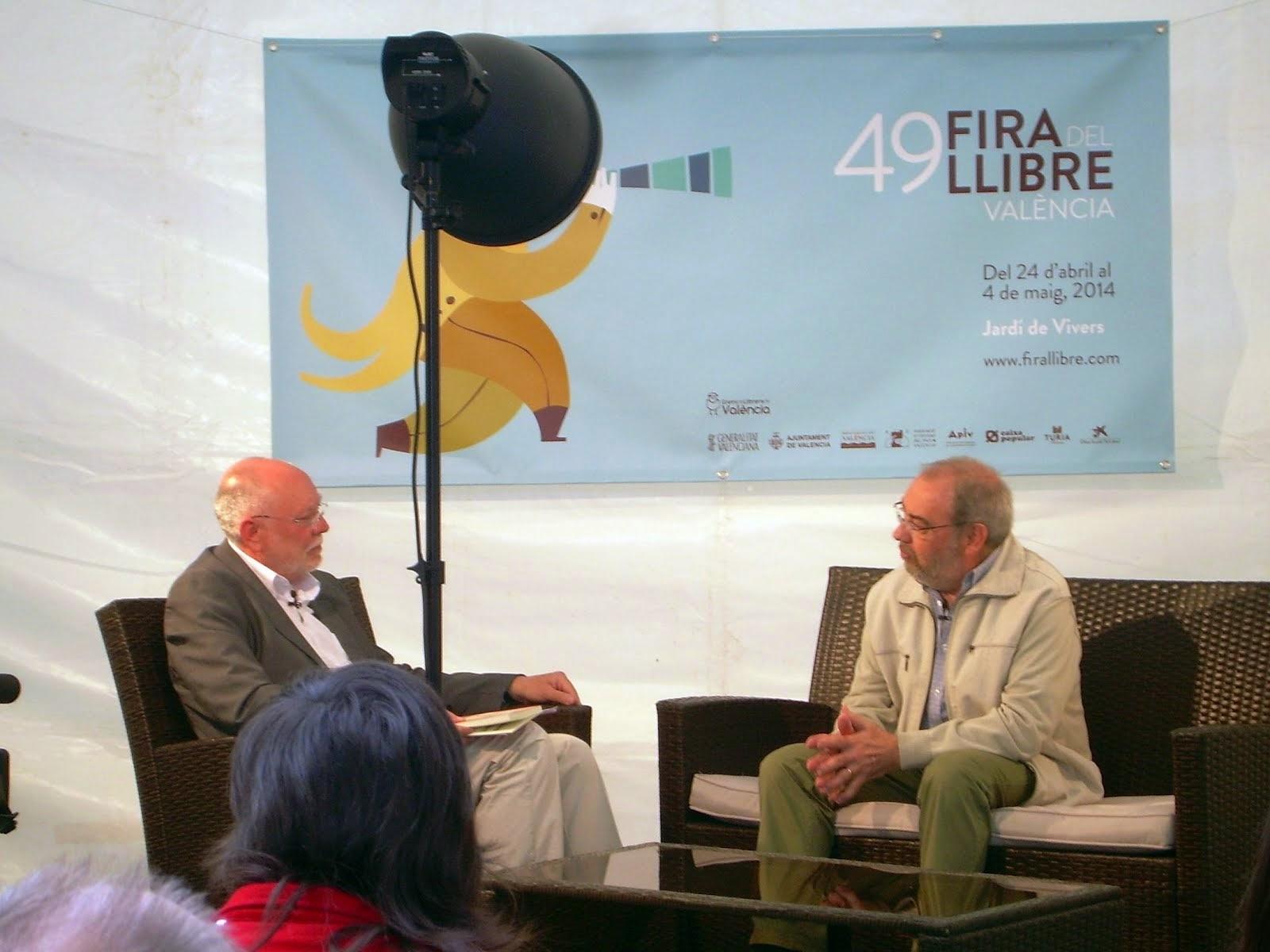 Entrevista a la Fira del Llibre