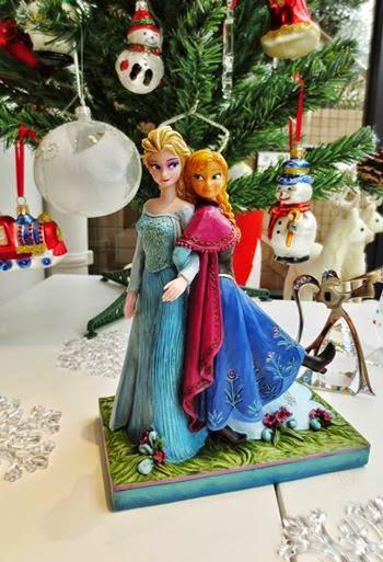 アナと雪の女王 陶器 置物
