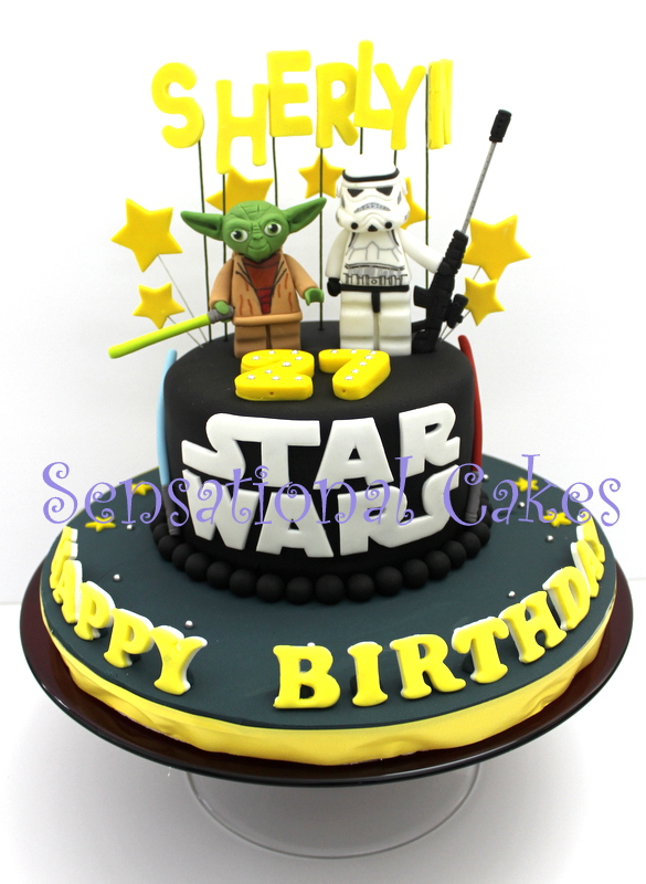 The Sensational Cakes Art Craft 3d Star Wars Theme Cake Singapore