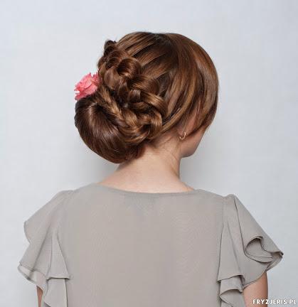 fryzura ślubna 13