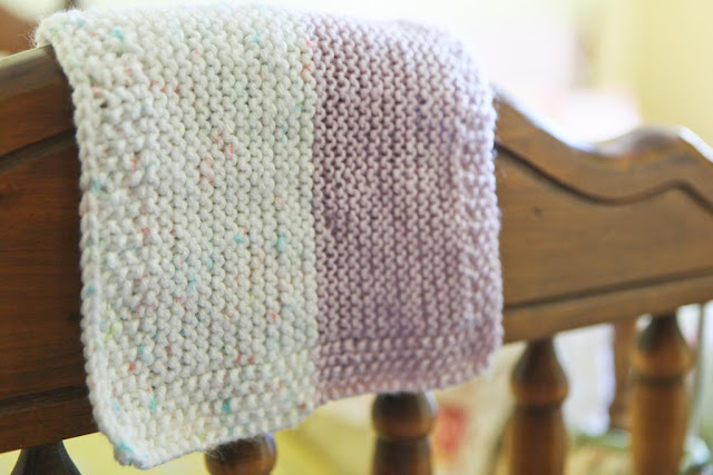 Knitting Pattern For Baby Snuggle Blanket : Ngo Family Farm: a knitted baby cuddle blanket