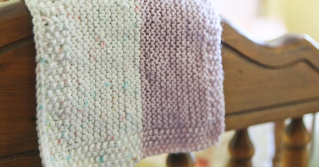 Ngo Family Farm: a knitted baby cuddle blanket