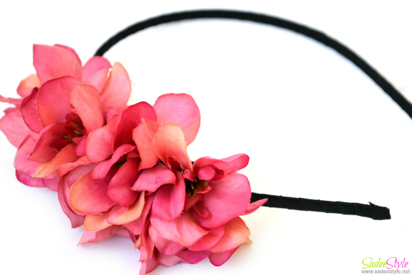 Elegant Orchid Petals Hair Bands Hot Selling