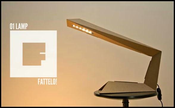 Lampada In Cartone 01lamp : Ars city fattelo e la lamp