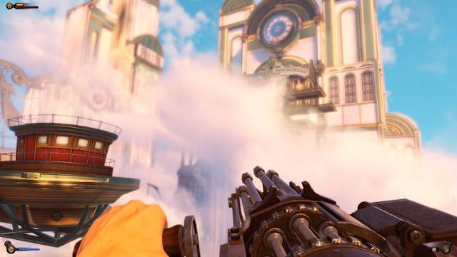 графика в игре BioShock Infinite на моноблоке ASUS Zen 240 Pro