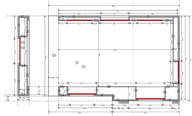 Trianon,Antichambre,Maquette,Miniature,Plan