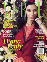 Diana, Penty, Verve, Magazine, January, 2013, Scans, flower, photoshoot,