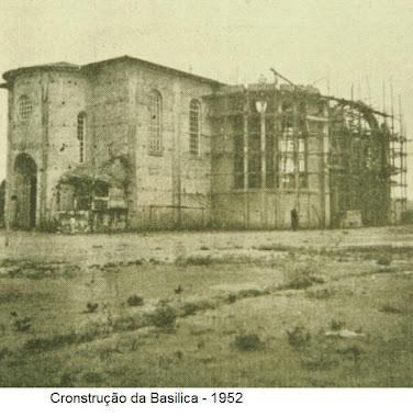 CONSTRUÇÃO DA BASILICA DE SAO JOSE OPERARIO