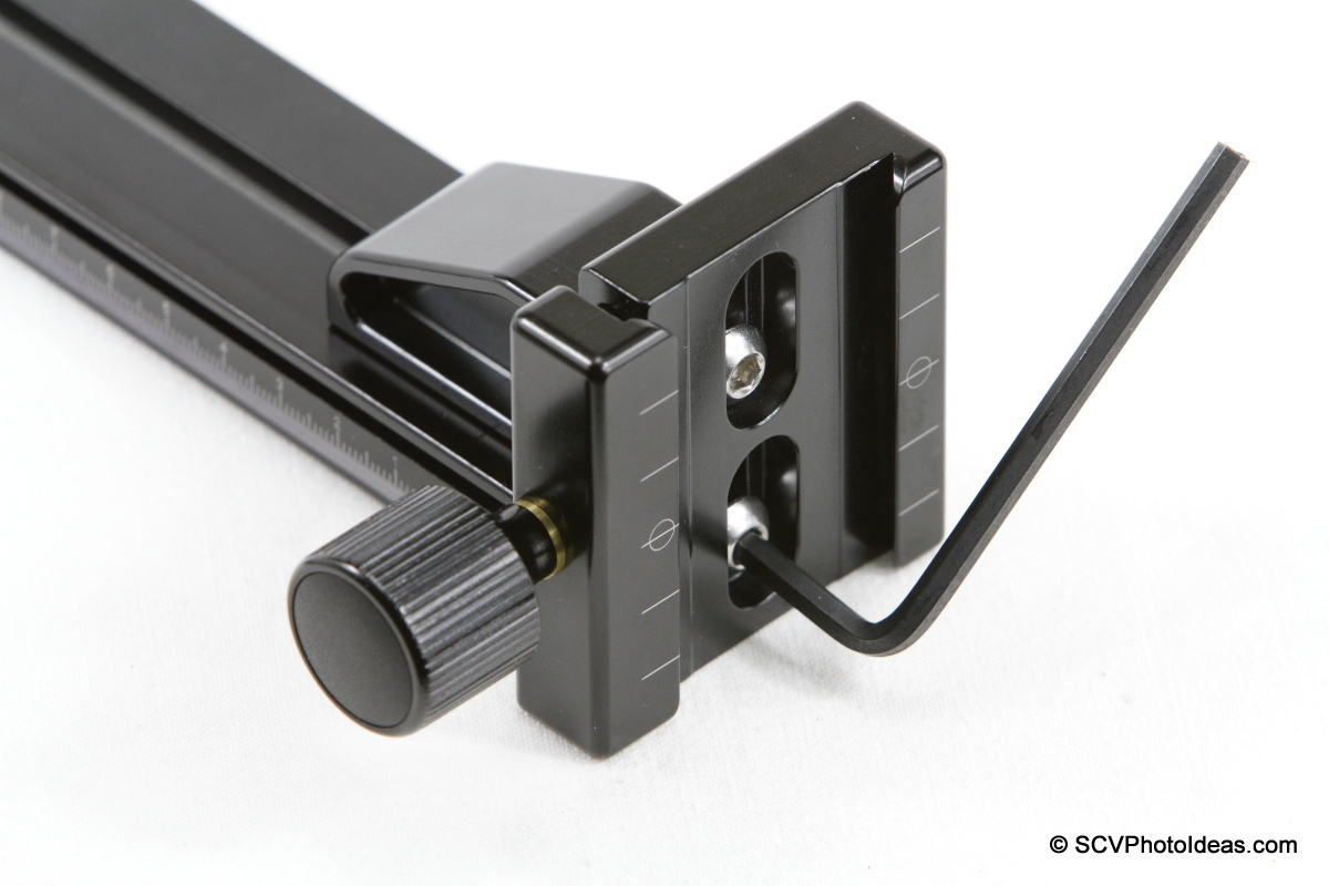 Hejnar PHOTO G21-80 Rail + G103 - F68 clamp mounting