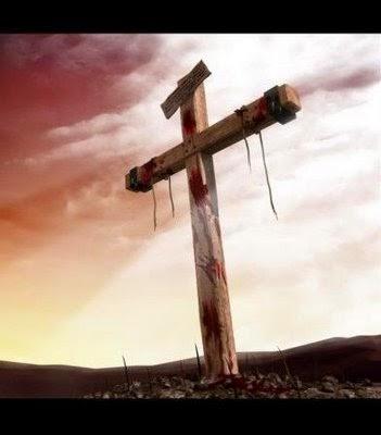 Mas não na cruz