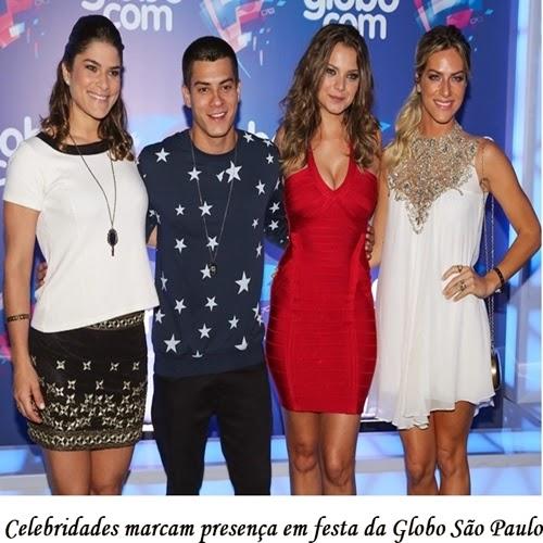 É a primeira vez que a Globo produz uma festa dentro de um estúdio da emissora