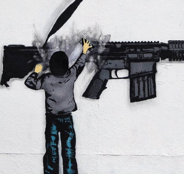 New Stencil Piece By Iranian Duo Icy & Sot In The Lower East Side Of New York City. 3