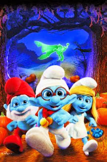 Vizioneaza film The Smurfs The Legend of Smurfy Hollow 2013