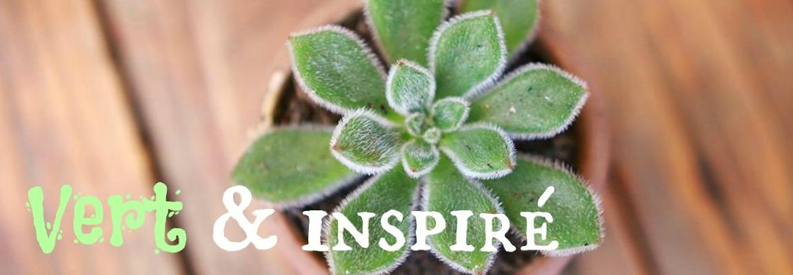 Vert et inspiré