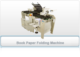 Book Paper Folding Machine