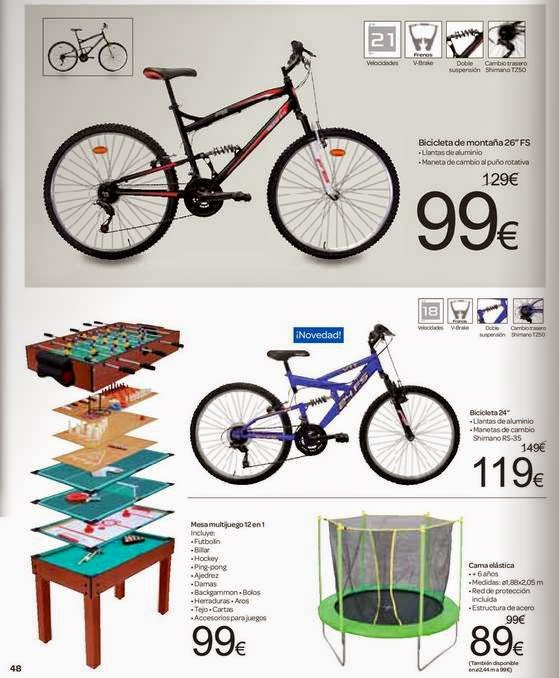 Ofertas de Bicicletas Enero 2015