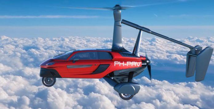 Αυτό είναι το πρώτο ιπτάμενο αυτοκίνητο !