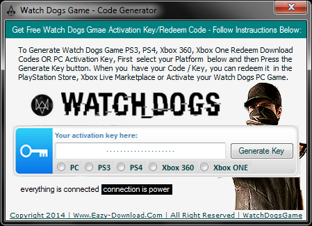 Watch Dogs Keygen