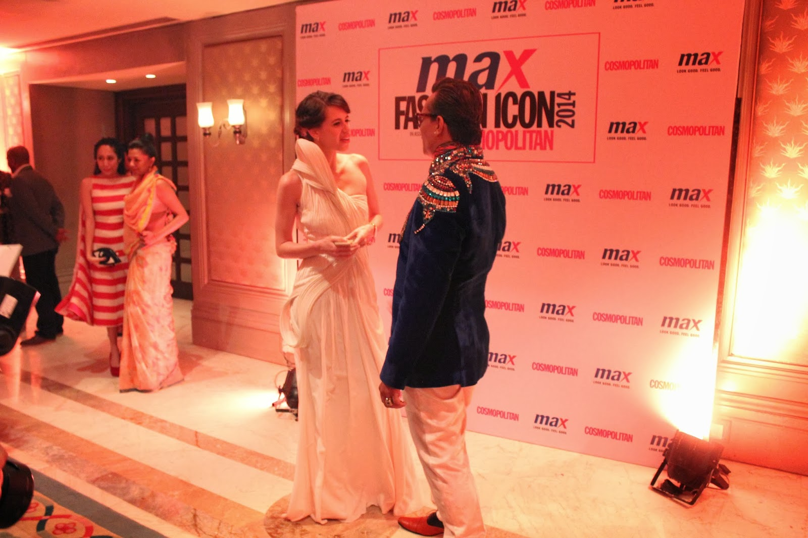 Imam Siddequee and Kalki Koechlin - MAX Fashion Icon 2014 In Collaboration  With Cosmopolitan Magazine Grand Finale - All Pictures, Uncut Version