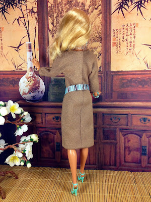 Tan Barbie Doll Dress