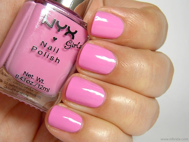 NYX Girls Nail Polish in Girly