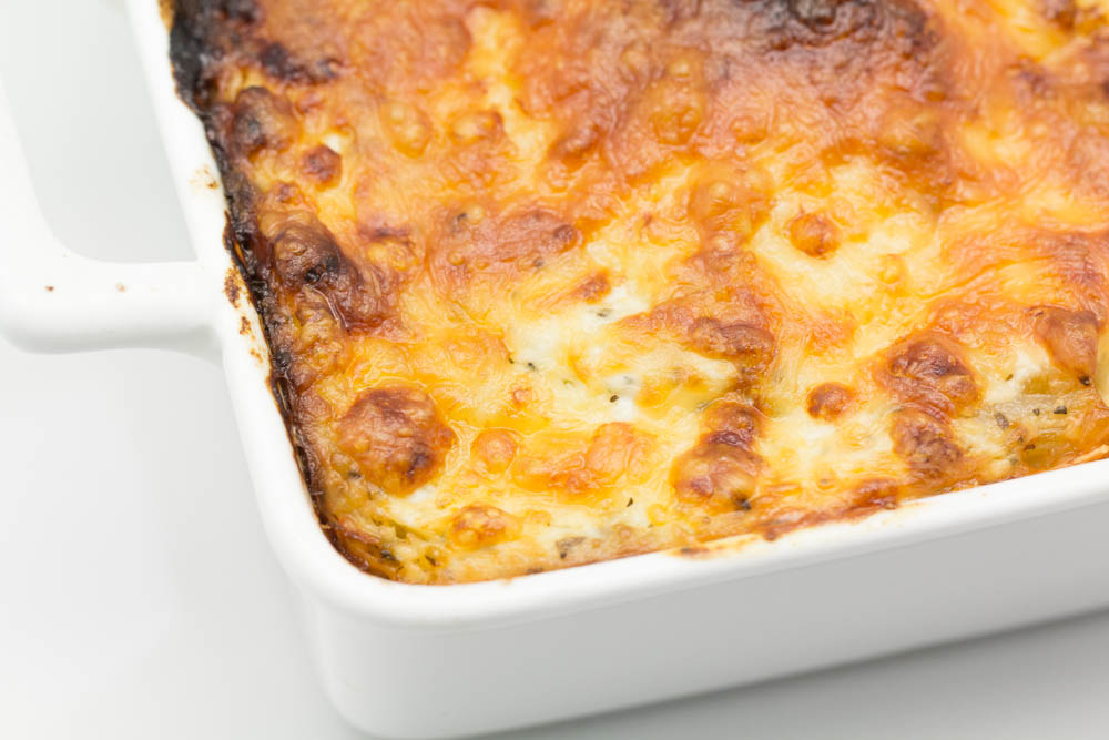 Hovkonditorn: Pasta Bake with Ricotta and Spinach