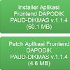 Download Installer dan Patch Dapodik Paud-Dikmas Versi 1.1.4