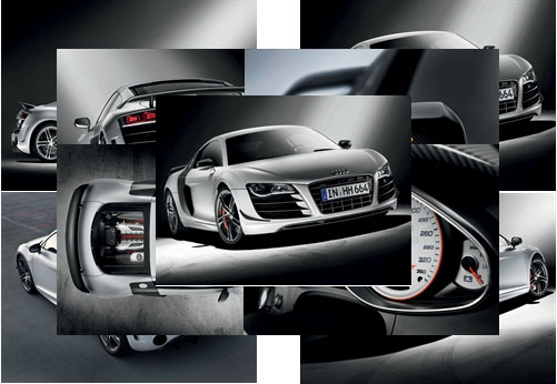 Audi R8 GT Coupe Car Theme For Windows 7 And 8