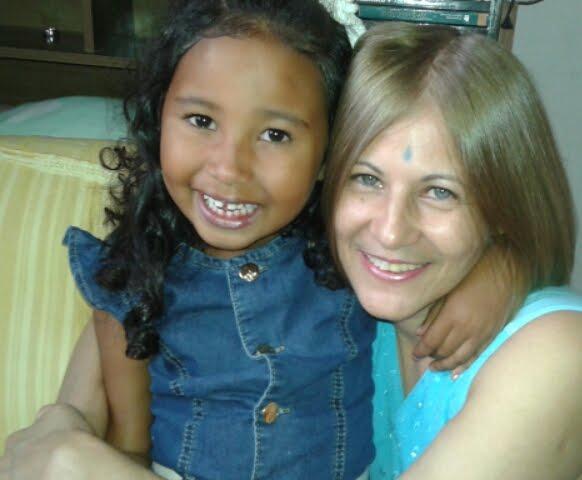 Minha querida sobrinha Sophia