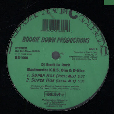 Boogie Down Productions – Super Hoe (Reissue VLS) (1986-1998) (320 kbps)