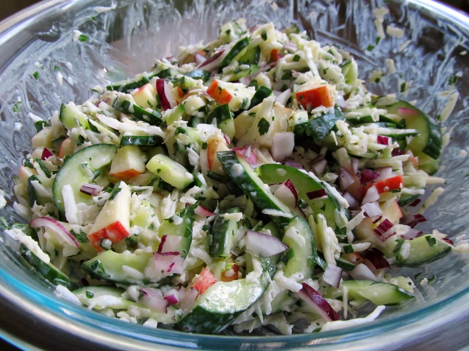 Mediterranean Diet, Salad with Fennel and Yogurt, The Cretan Diet,